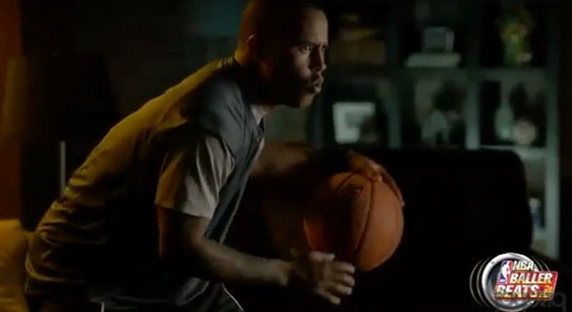 NBA Baller Beats for Xbox 360 encourages you to play ball in the house