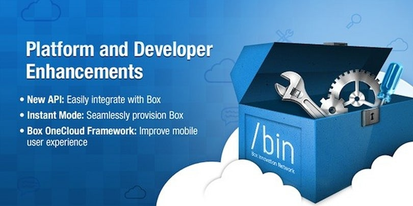 Box releases new API for developers, announces 15 more OneCloud apps