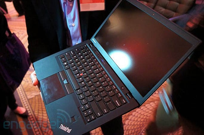 Lenovo announces the ThinkPad X1 Carbon, a 14-inch Ultrabook with Ivy Bridge, optional 3G and a 1600 x 900 display