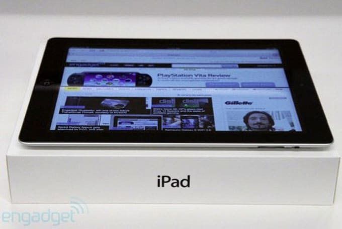 Apple 'captures' new iPads due to WiFi complaints