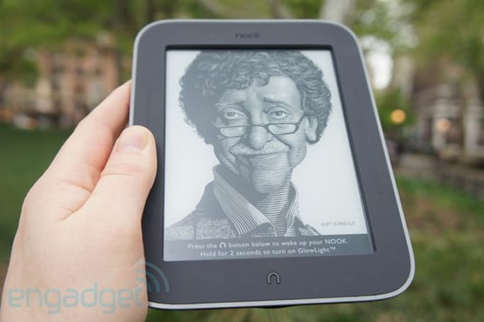 Nook Simple Touch with GlowLight review