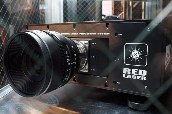 REDray 4K cinema laser projector and player eyes-on (video)