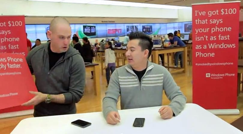 Microsoft touts 98-percent 'Smoked by Windows Phone' success rate, a few beg to differ
