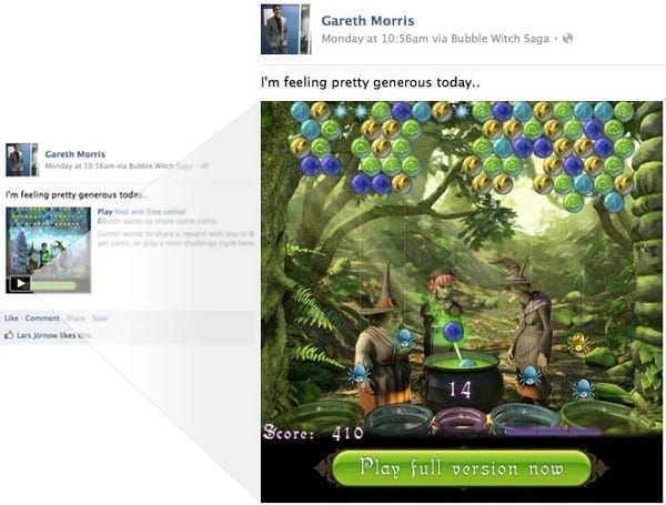 One more place to play Farmville or one more reason to quit Facebook?
