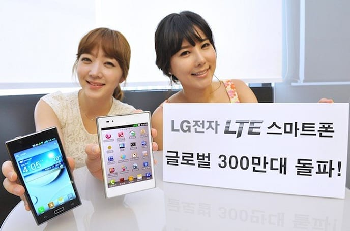 LG celebrates three million LTE phones sold worldwide, shockingly finds high speed data is awesome