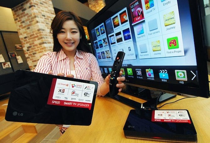 LG launches 'upgraded' SP820 Smart TV Upgrader box in June for about $170 US