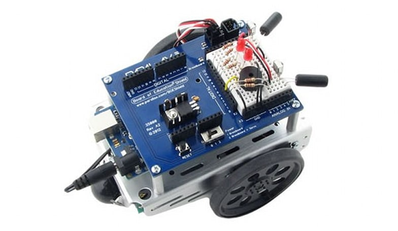 Arduino mechs learn RobotC, plot assimilation with Lego Mindstorms