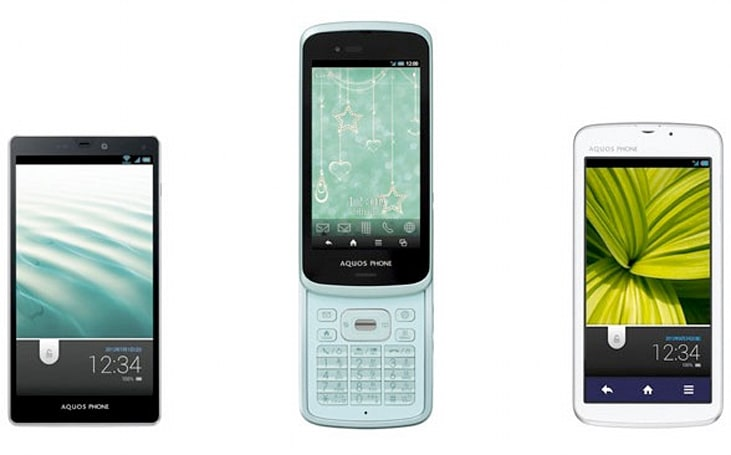 KDDI reveals its Summer 2012 collection: Android smartphones are still hot