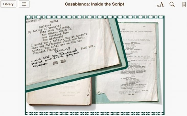 Warner Bros. intros 'Inside the Script' eBook series, gives film buffs a deeper look