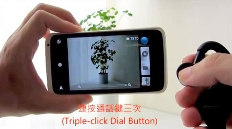 HTC One X camera discovered to have remote shutter functionality with BT headsets