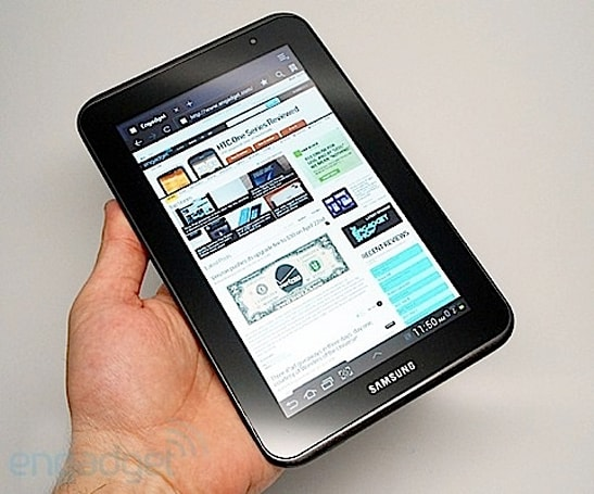 Samsung Galaxy Tab 2 7.0 lands at UK's Carphone Warehouse