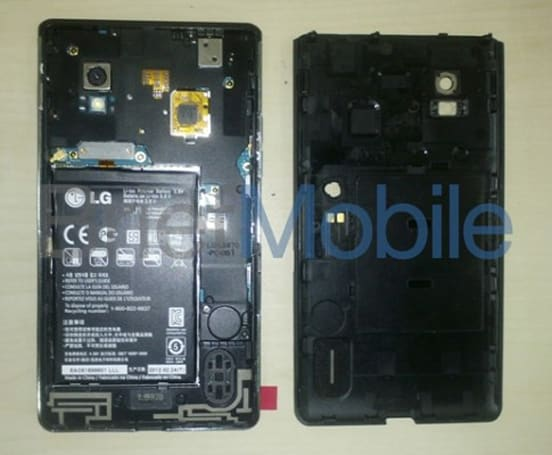 LG LS970 'superphone' shows up again, flaunts its removable battery and NFC chip