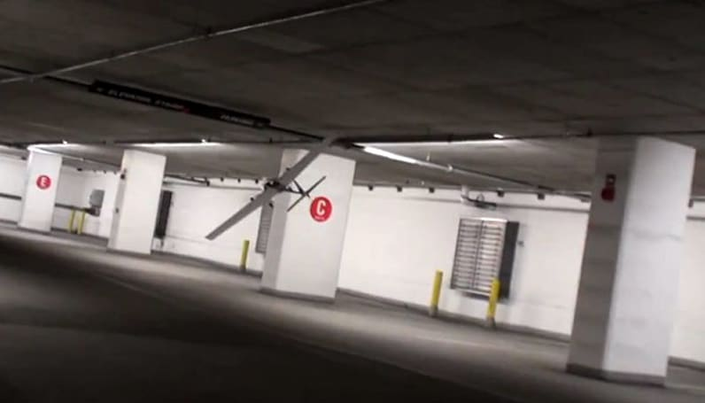 Laser-toting MAV can find its way in tight spaces, might eventually hunt you down (video)