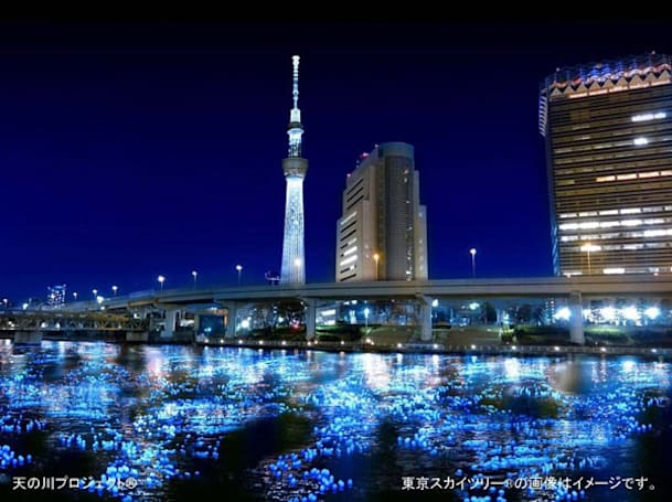 Panasonic sends 100,000 LEDs down Tokyo river, mates tech with tradition (updated with video!)