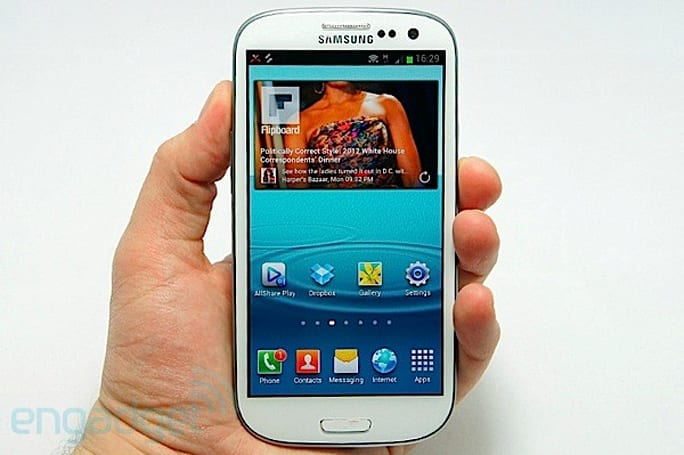 Samsung Galaxy S III gets benchmarked, shows plenty of promise