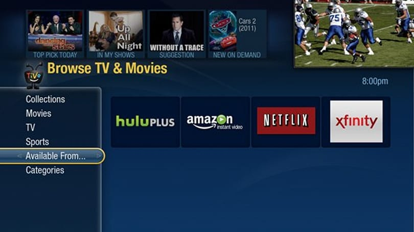 Comcast video on-demand comes to Boston area TiVo Premieres Monday