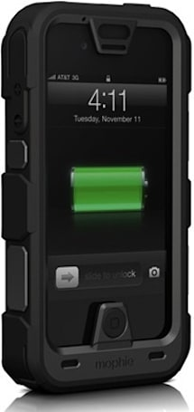 Mophie's Juice Pack PRO aims to keep iPhone 4 / 4S protected and powered during wild adventures