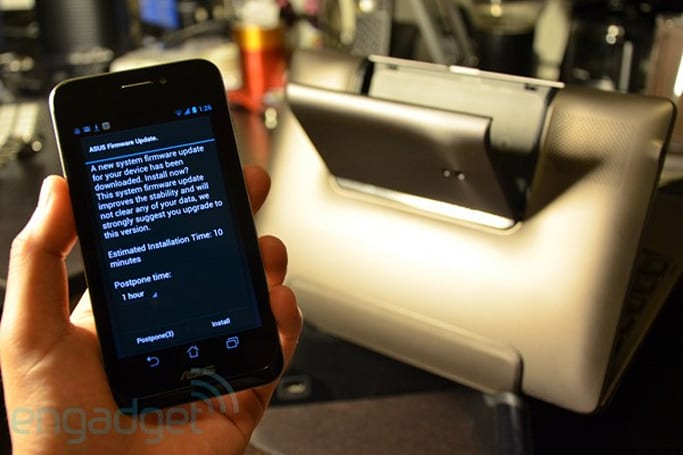 ASUS PadFone gets its first firmware update, minor bugs removed