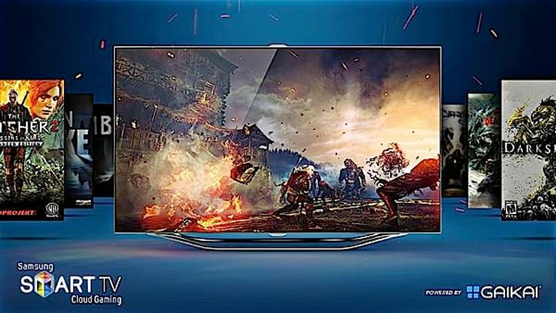 Gaikai-powered cloud gaming coming to Samsung Smart TVs (update: hands-on video and impressions)