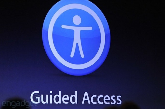 Apple announces Guided Access for iOS devices, offers expanded accessibility controls