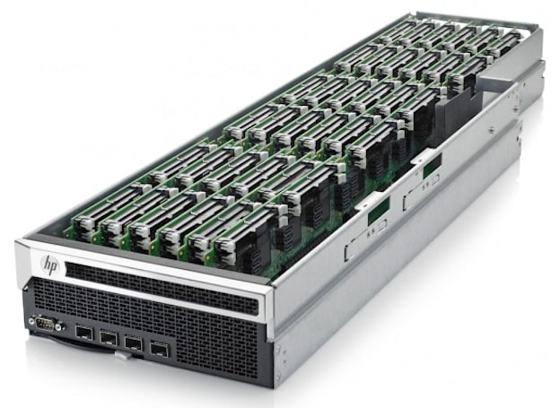 Project Moonshot take two: HP's low-power Gemini servers let go of ARM's Calxeda for Intel's Centerton