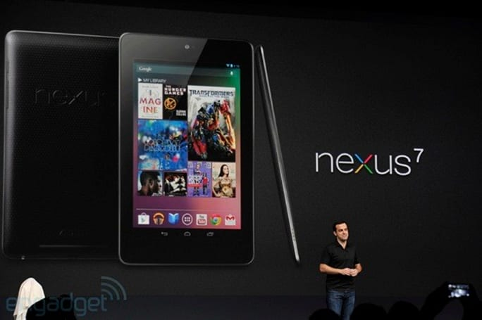 Google Nexus 7 正式发布:Android 4.1 Jelly Bean、US$199