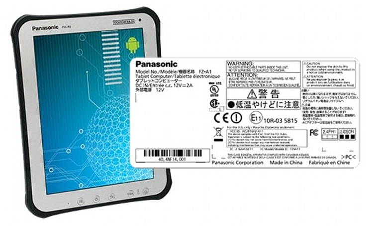 Panasonic Toughpad A1 clashes with FCC, goes the distance