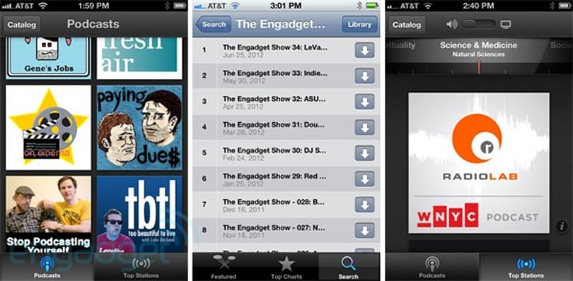 Apple's Podcasts app for iOS hands-on