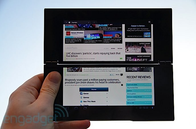 How would you change Sony's Tablet P?