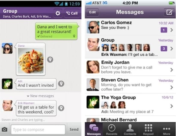 Viber's VoIP iPhone, Android apps updated with enhanced UI, group messaging and more