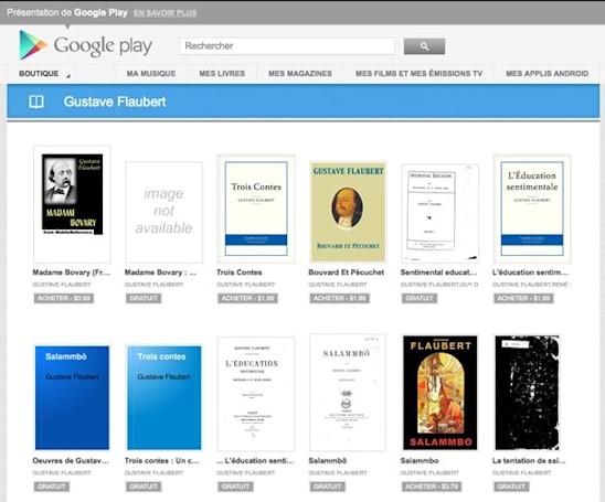 Google Play Books starts a new chapter in France