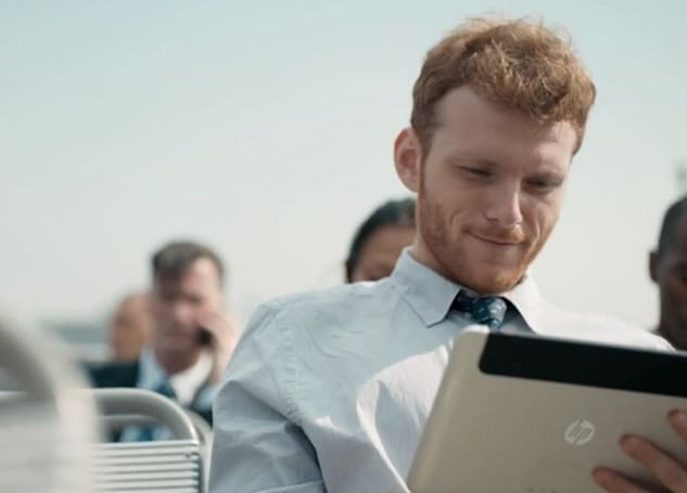 Is HP showing the Slate 8 in its latest commercial? (video)