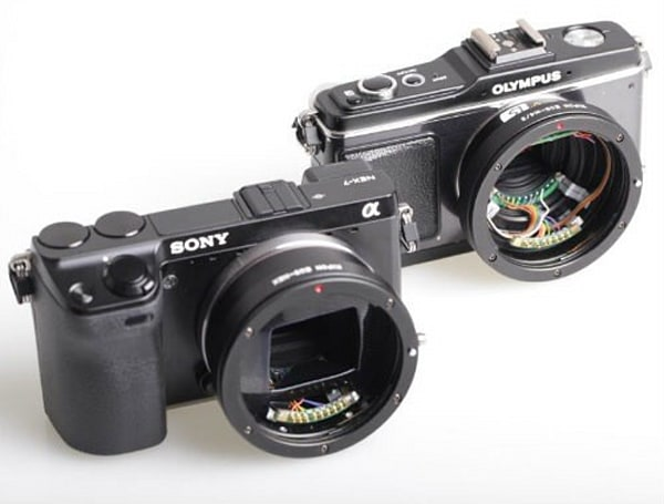 Kipon preps Canon EF lens adapters for Micro Four Thirds, NEX cameras with electronic control