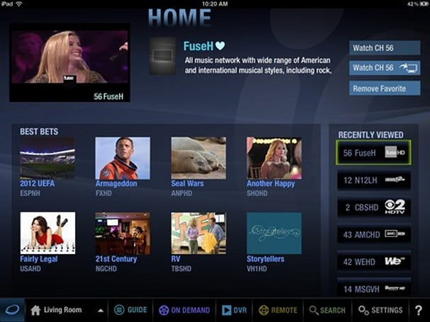 Cablevision Optimum apps for iPad, iPhone upgraded with new UI, ratings and discovery features