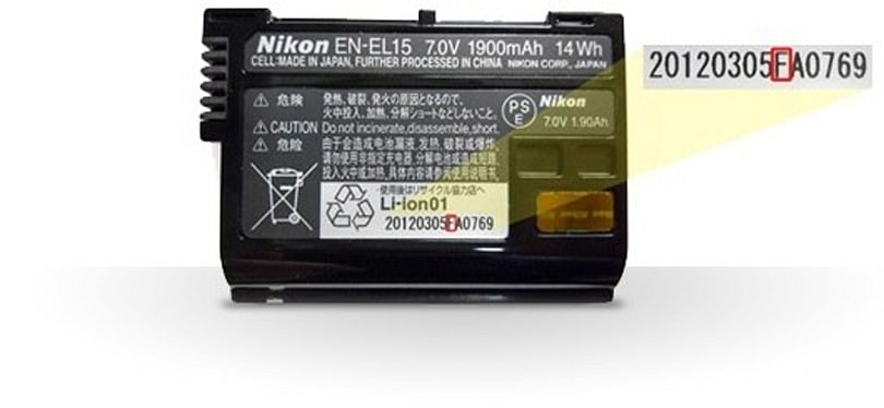 Nikon recalls battery packs sold with D800 and D7000 DSLRs due to burn hazard