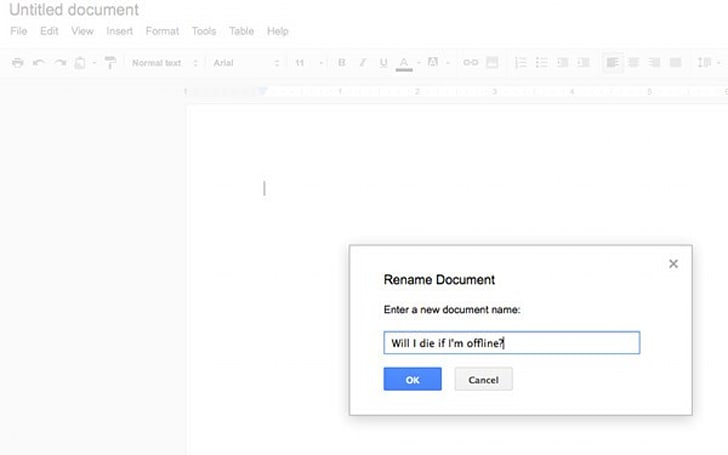 Google gently tweaks offline experience for Docs, rolling out to Drive users now