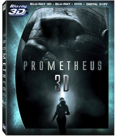 Prometheus Blu-ray extras leak reveals Second Screen app and 15 minutes of deleted scenes