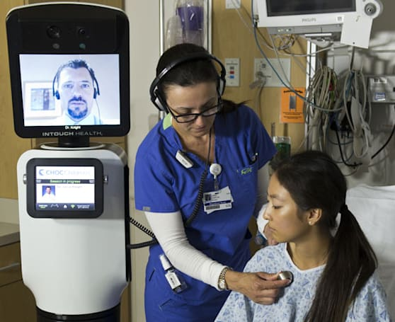 iRobot, InTouch Health unveil RP-VITA telepresence robot, let doctors phone in bedside manner