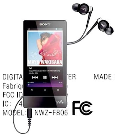 Sony's Walkman F PMP hits the FCC mere seconds after being announced