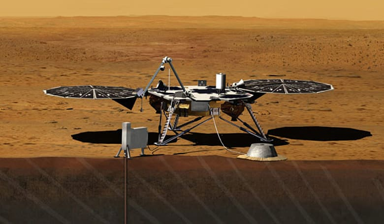 NASA InSight tapped for Mars drilling mission in 2016