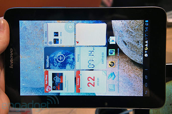 Lenovo IdeaTab A2107 gets formal unveiling at IFA 2012: a ruggedized, 7-inch Android 4.0 slate (hands-on photos)