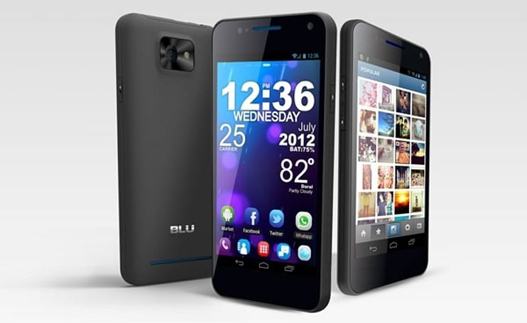 BLU Products intros Vivo 4.3, says it's 'world's first' dual-SIM smartphone with Super AMOLED Plus