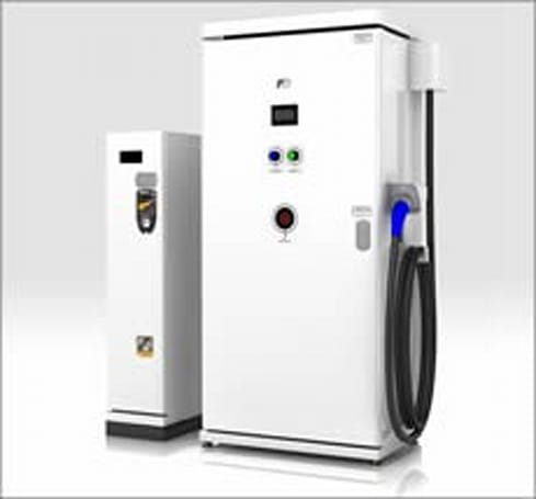 Fuji Electric releasing first coin-operated EV fast charger, gives electric cars extra life