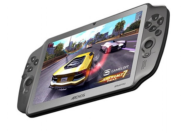 Archos unveils 7-inch GamePad with physical controls, Ice Cream Sandwich for 'less than 150 euros'