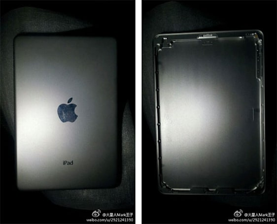 Alleged images of 7-inch iPad shell appear from the east