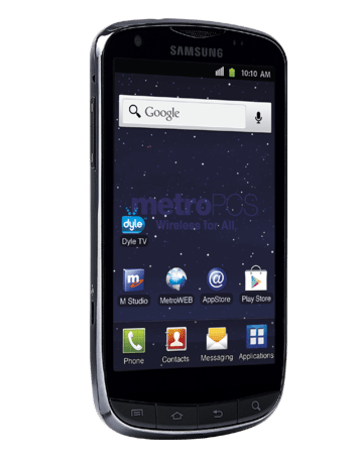 MetroPCS outs Samsung Galaxy S Lightray 4G: 4.3-inch Super AMOLED, LTE and Dyle Mobile TV
