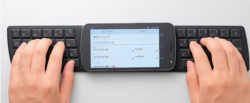 Throwaway NFC keyboard improves productivity, reduces bank balance