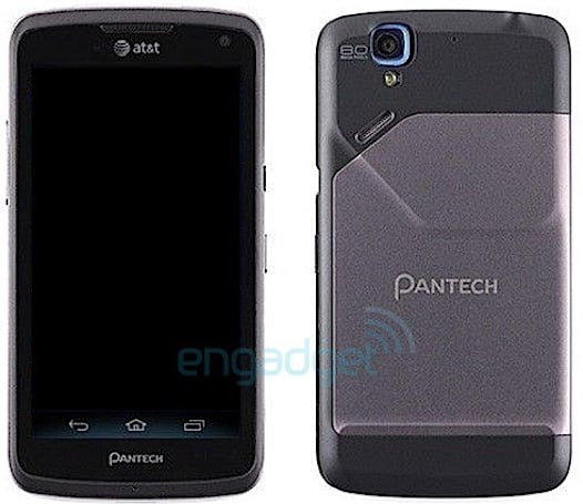 Pantech Magnus pictured en route to AT&T