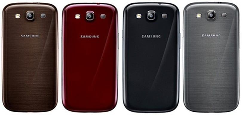 Samsung expands Galaxy S III colors: yes, you can get brown