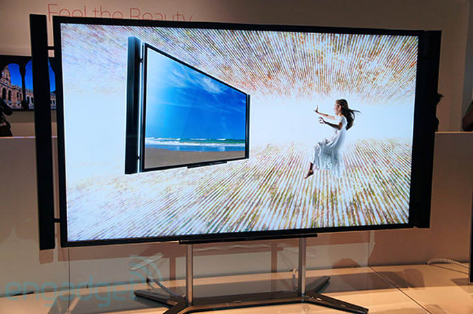 Sony's 84-inch 4K Bravia KD-84X9005 hits the IFA show floor, we go eyes-on
